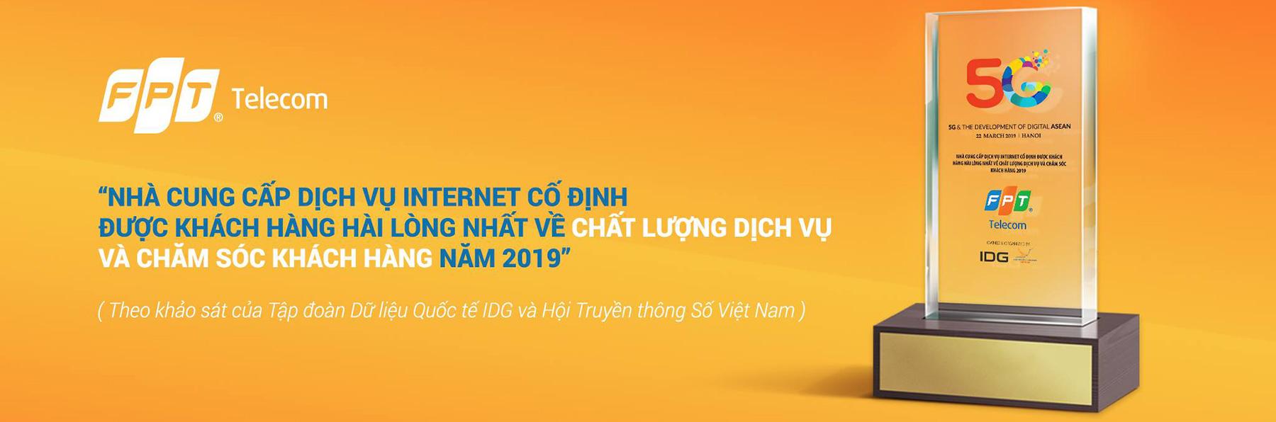 FPT Telecom là nhà cung cấp dịch vụ internet hàng đầu Việt Nam